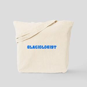 Glaciologist Blue Bold Design Tote Bag