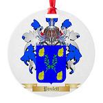 Poulett Round Ornament