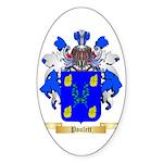 Poulett Sticker (Oval 50 pk)