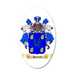Poulett 35x21 Oval Wall Decal