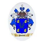 Poulett Oval Ornament