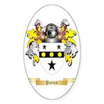 Potton Sticker (Oval)
