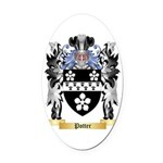 Potter Oval Car Magnet