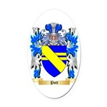Pott Oval Car Magnet