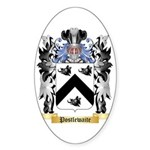 Postlewaite Sticker (Oval 10 pk)