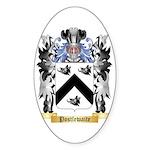 Postlewaite Sticker (Oval 50 pk)