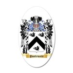 Postlewaite 35x21 Oval Wall Decal