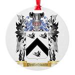 Postlethwaite Round Ornament