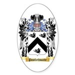 Postlethwaite Sticker (Oval 50 pk)