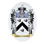 Postlethwaite Oval Ornament