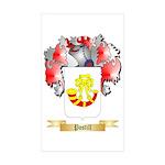 Postill Sticker (Rectangle 50 pk)