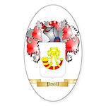Postill Sticker (Oval 50 pk)