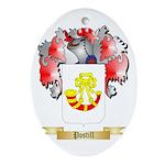 Postill Oval Ornament