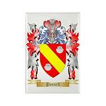 Posselt Rectangle Magnet (100 pack)