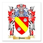 Possa Square Car Magnet 3