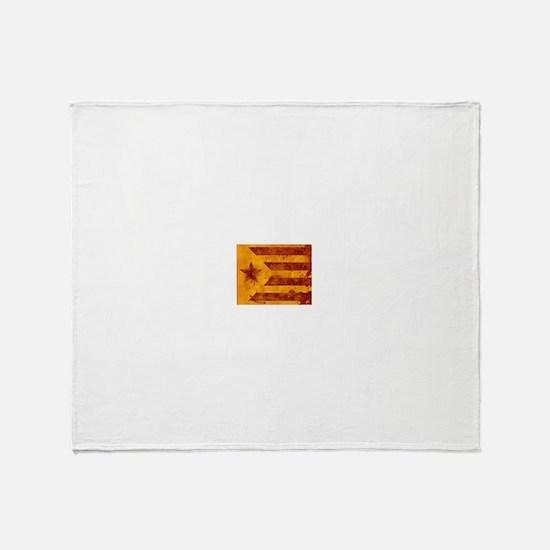 The Estelada - Catalan independentis Throw Blanket