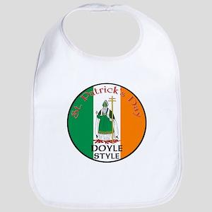 Doyle, St. Patrick's Day Bib