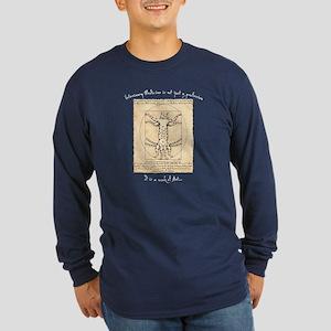 Veterinary Davinci CaT Long Sleeve Dark T-Shirt