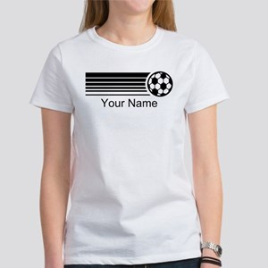 Soccer Personalized Women's T-Shirt