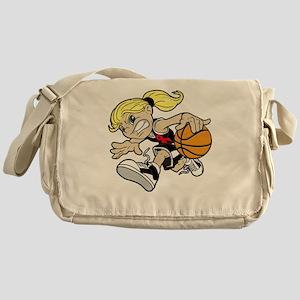 BASKET GIRL Messenger Bag