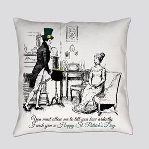 Ardently St. Patrick's Day Everyday Pillow