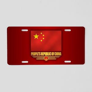 China Aluminum License Plate