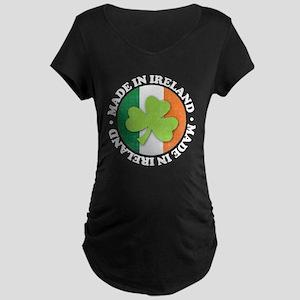 Made in Ireland Maternity Dark T-Shirt
