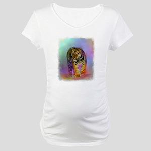 TIGER CUB Portrait Maternity T-Shirt
