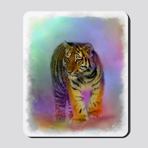 Tiger Cub Portrait Mousepad