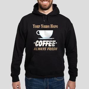 Custom Coffee Shop Hoodie