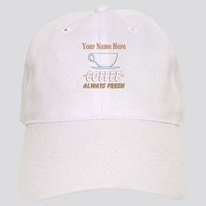 Custom Coffee Shop Baseball Cap