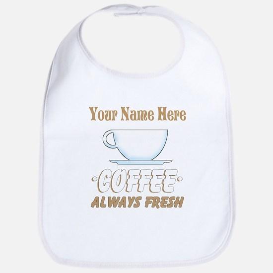 Custom Coffee Shop Bib