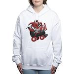 Derby Girl R&B Women's Hooded Sweatshirt
