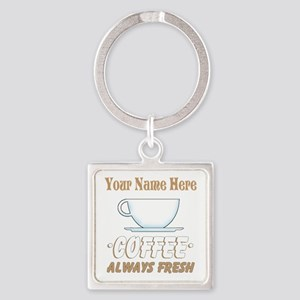 Custom Coffee Shop Keychains