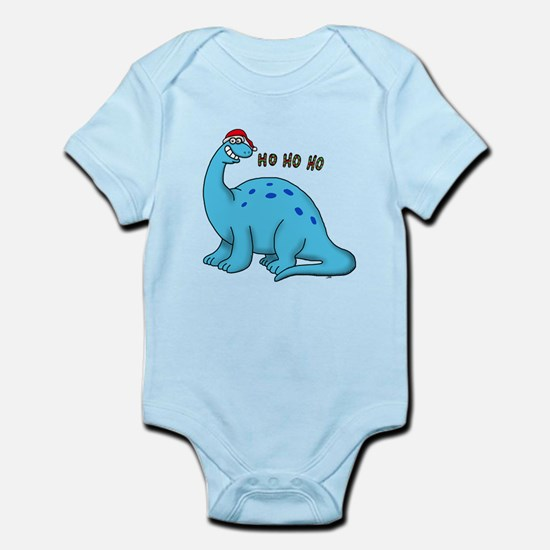 Ho ho christmas dino Body Suit