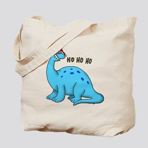 Ho ho christmas dino Tote Bag