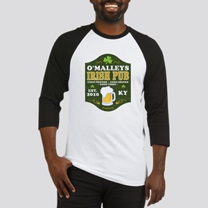 Irish Pub Personalized Baseball Jersey