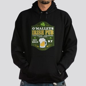Irish Pub Personalized Hoodie (dark)