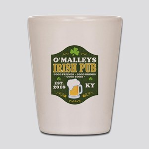 Irish Pub Personalized Shot Glass