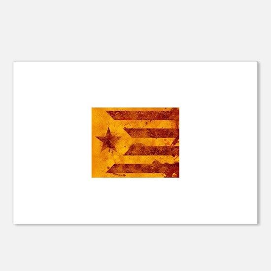 The Estelada - Catalan in Postcards (Package of 8)