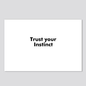 Trust your Instinct Postcards (Package of 8)