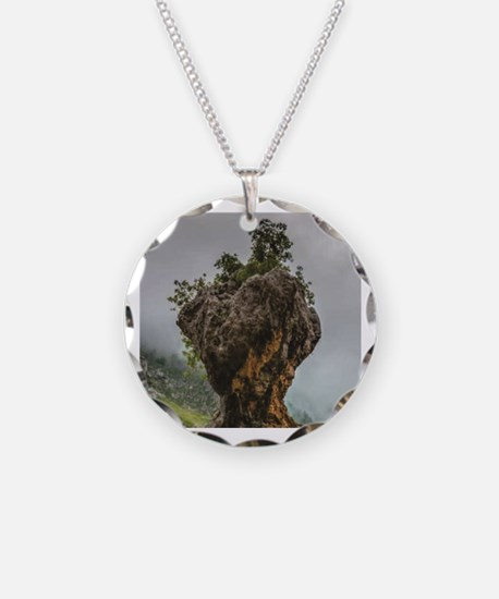 Cute Rock hammers Necklace