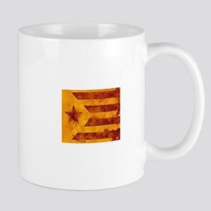 The Estelada - Catalan independentist flag ba Mugs