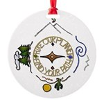 Hiker's Soul Compass Ornament