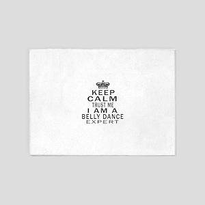 Belly dance Dance Expert Designs 5'x7'Area Rug