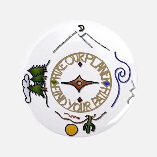 Hiker's Soul Compass Button