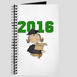 Green Girl Grad 2016 Journal