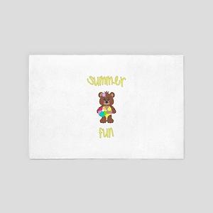 Summer Fun (yellow) 4' x 6' Rug