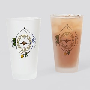 Hiker's Soul Compass Drinking Glass