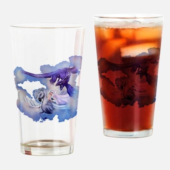 Cute Book shadows Drinking Glass
